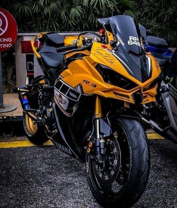 Фото спортивного мотоцикла